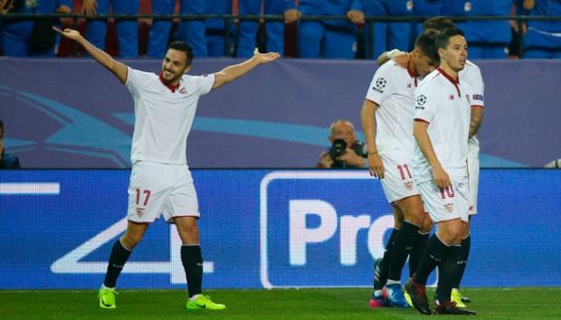 Liga Spanyol: Tahan Gijon, Sevilla Kembali Geser Atletico Madrid