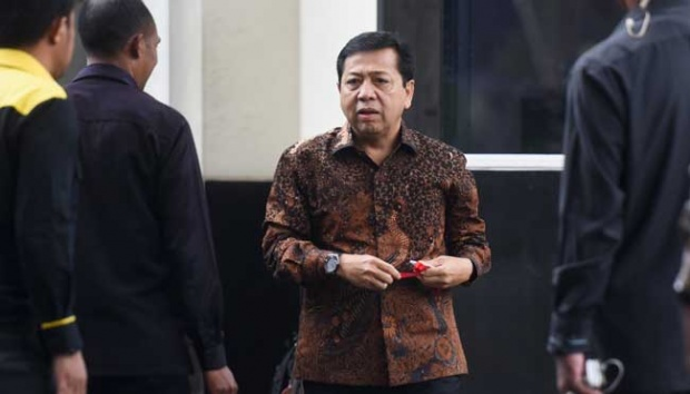 KPK Names Setya Novanto as Suspect in ID Card Graft Case