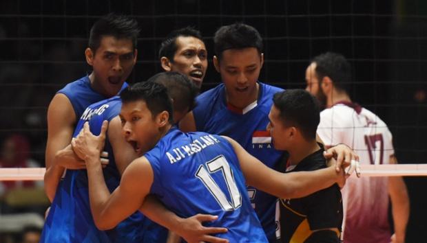 Kalahkan Iran, Indonesia Lolos ke Semifinal Kejuaraan Voli Asia