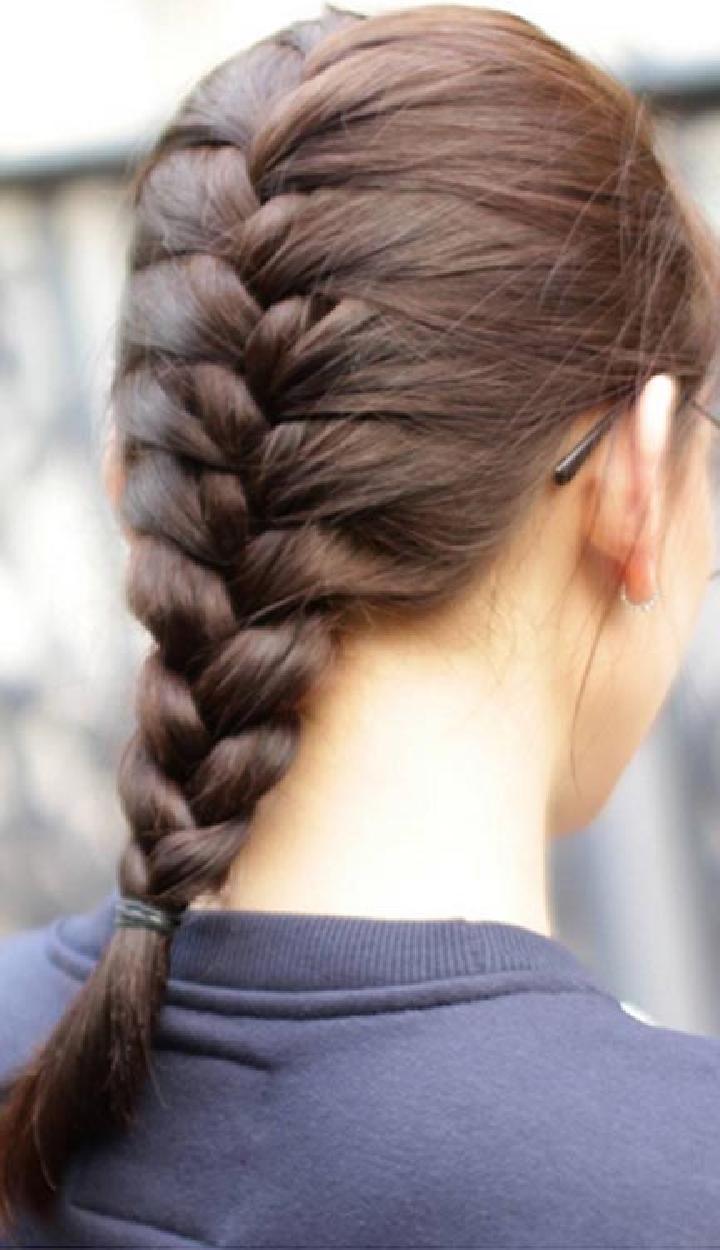 Hasil gambar untuk kepang rambut