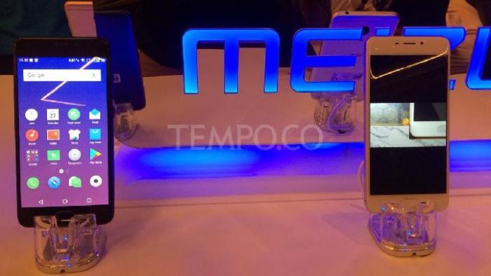 Meizu M6 resmi diluncurkan di Indonesia, Jumat, 27 April 2018. (TEMPO/Amri Mahbub)