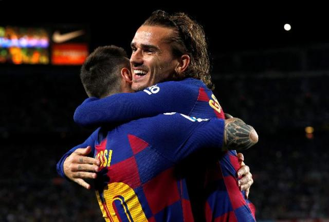 Barcelona: Ego Messi dan Terpinggirnya Griezmann karena Valverde ...