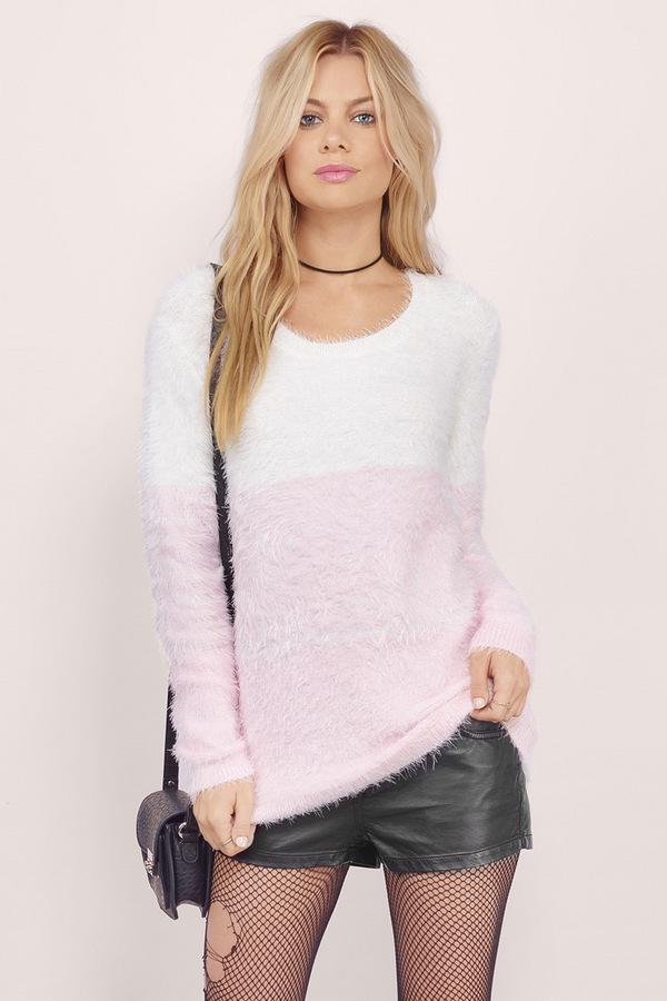 Dhalia Fuzzy Ombre Sweater