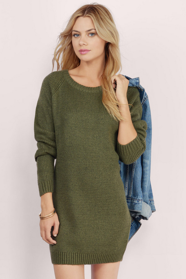 Comfy Cozy Sweater Dress