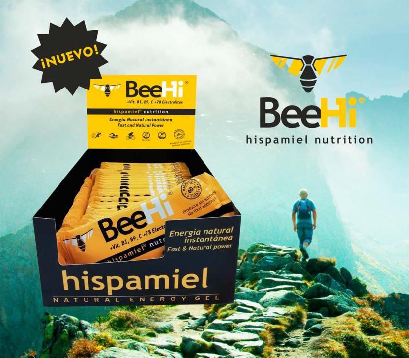 En TodoMountainBike: Hispamiel presenta la marca de nutrición deportiva BeeHi: barritas y geles con miel como ingrediente principal