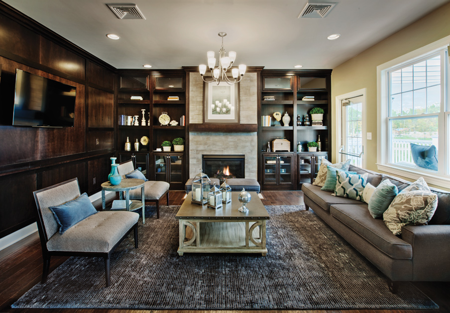 Newtown Woods  Regency Collection luxury new homes in Newtown CT