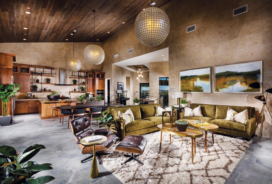 Dining Room 3d Wallpaper New Luxury Homes For Sale In Las Vegas Nv Mesa Ridge