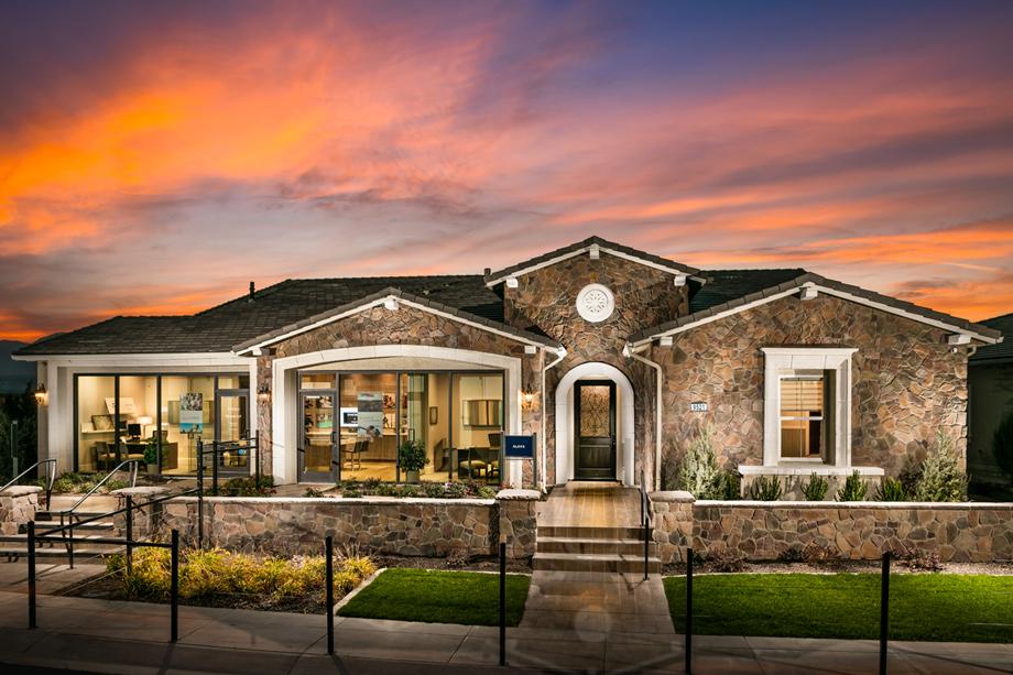 Reno NV New Homes for Sale  Sorrento Trail at Bella Vista