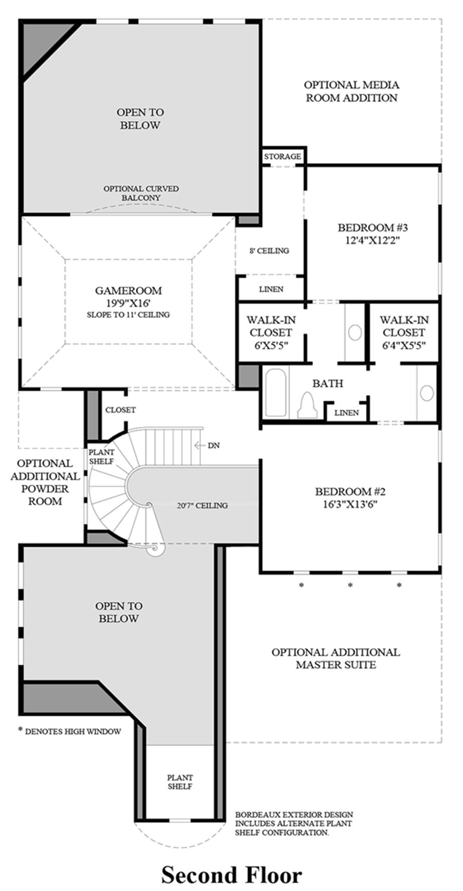 hight resolution of 2nd floor floor plan