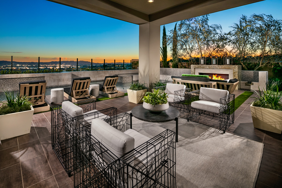 Westcliffe At Porter Ranch Cascades Collection The Castor Home Design