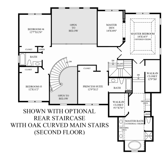Spiral Staircase Floor Plan Staircase Gallery