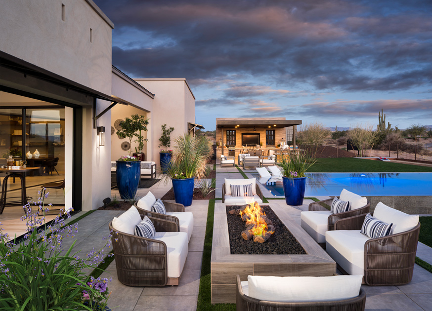 Small Spanish Style Homes Plans Toll Brothers At Verde River | The Rio Verde Home Design