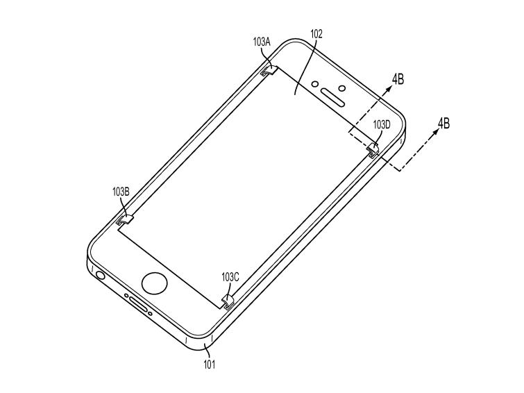 Apple : un brevet pour éviter aux écrans de se briser