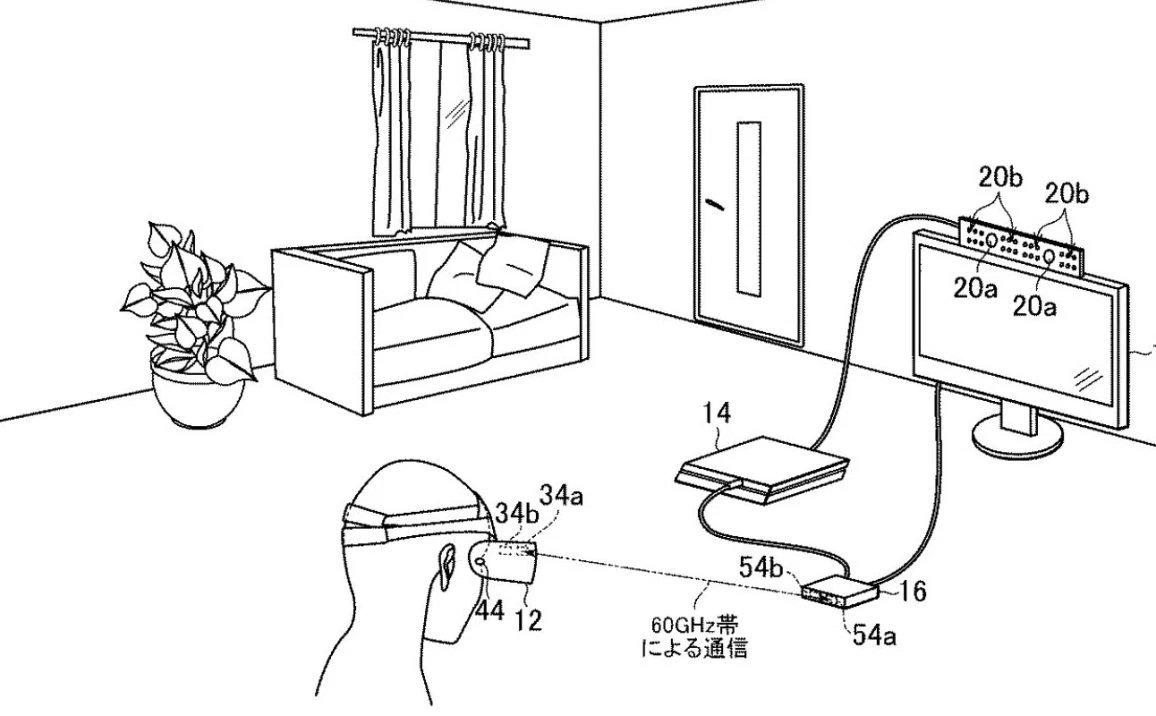 Sony dépose un brevet pour un PSVR sans fil