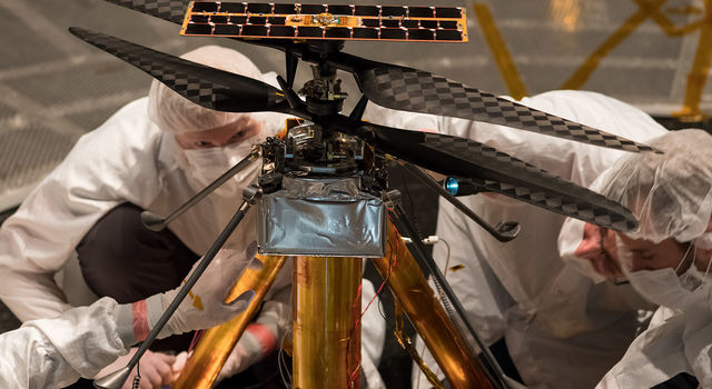 Image 1: Space: NASA will fly a helicopter on Mars