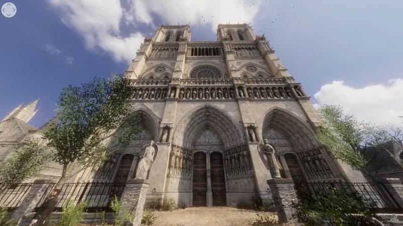 Image 1 : Visitez Notre-Dame de Paris en réalité virtuelle grâce à Ubisoft