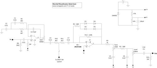 small resolution of marshall bluesbreaker first version blackbox marshall bluesbreaker schematic