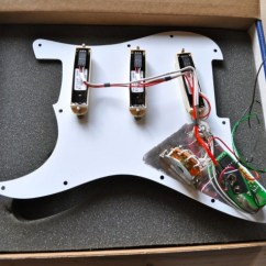 Emg Sa Pickup Wiring Diagram How To Make Process Flow David Gilmour Dg-20 Pre-wired Pickguard [sold] | It-11 Audio / Tonegeek