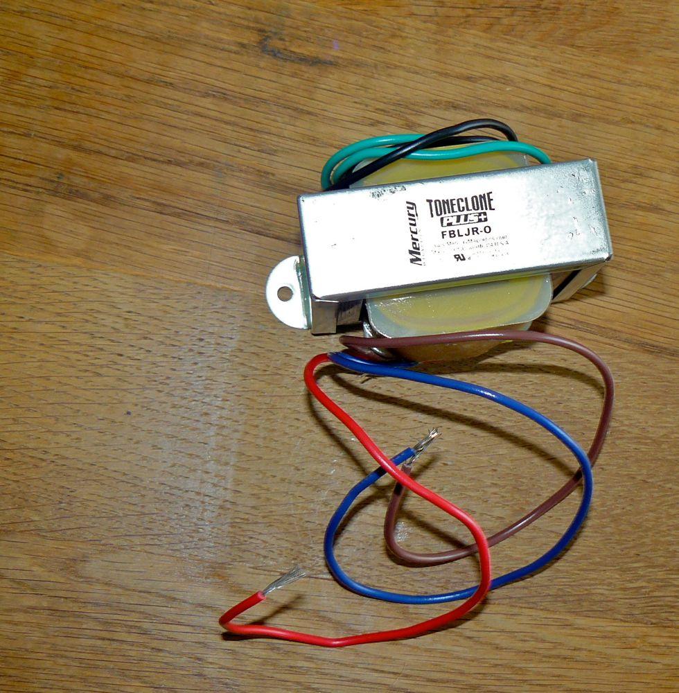 medium resolution of fender blues junior output transformer mod mercury magnetics 1