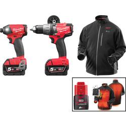 Power Tool Kits Bosch Makita Milwaukee