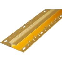 Carpet Joiner Gold - Toolstation
