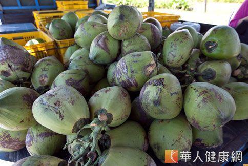 椰子除了可以喝,椰子油還是滋潤皮膚、頭髮的用品,不過在食用保健的方面,有待更大規模的研究確認功效。(圖片/華人健康網)