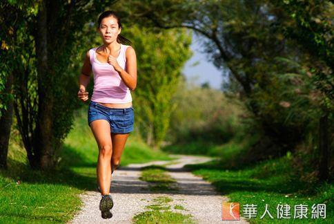 一星期運動5天,一次30分鍾,心跳達110下,持之以恆要瘦並不難。