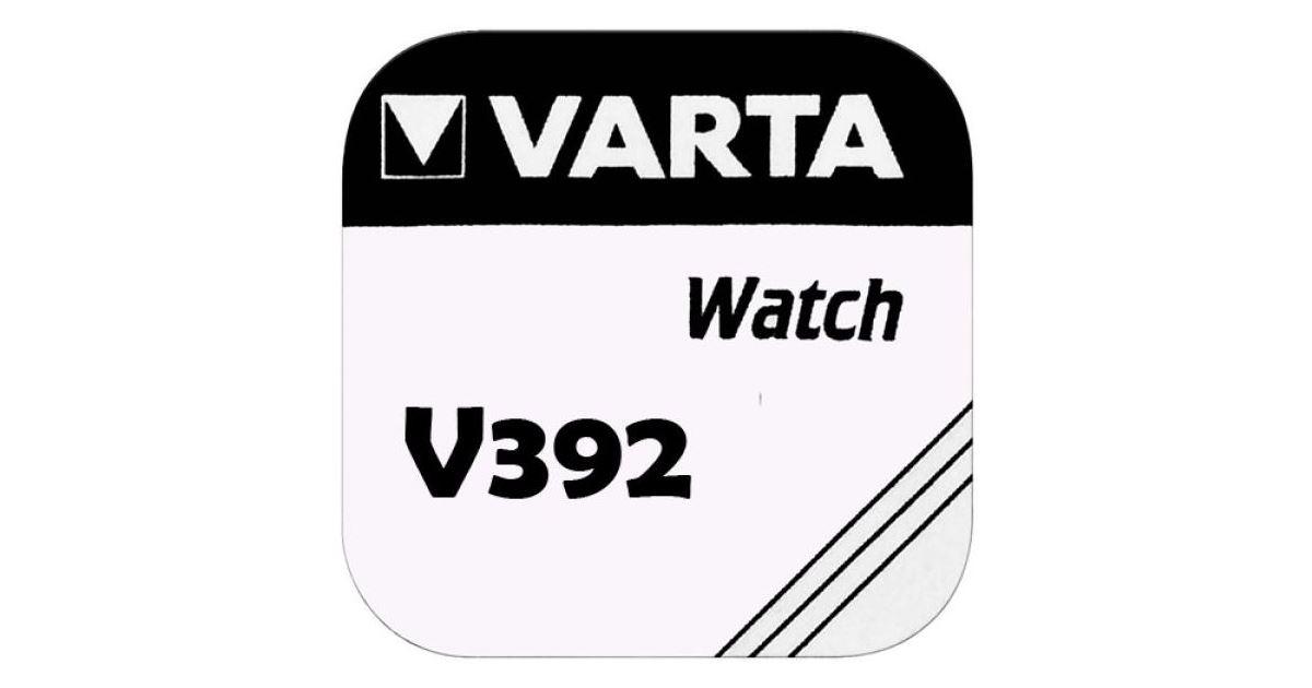 Baterie Varta Watch V 392, SR41W, hodinková, (Blistr 1ks
