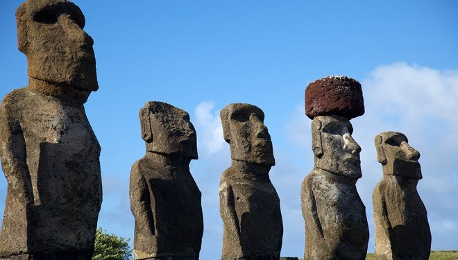 The Amazing History of the Moai Easter Island Statues