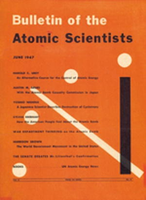 atomic scientists bulletin