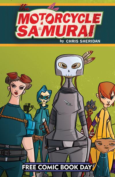 The Motorcycle Samurai -- FCBD 2015