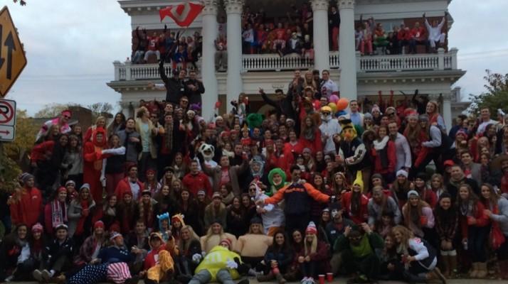 Total Frat Move Halloween Football Block At The Ohio