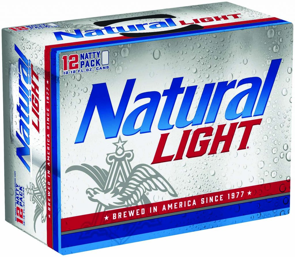 Total Frat Move  Natural Light's New Look Screams America