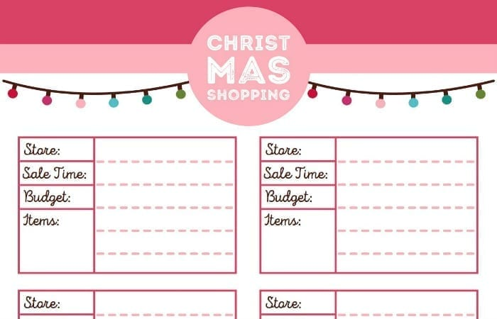 This Printable Christmas Planner Is Everything Youll Need