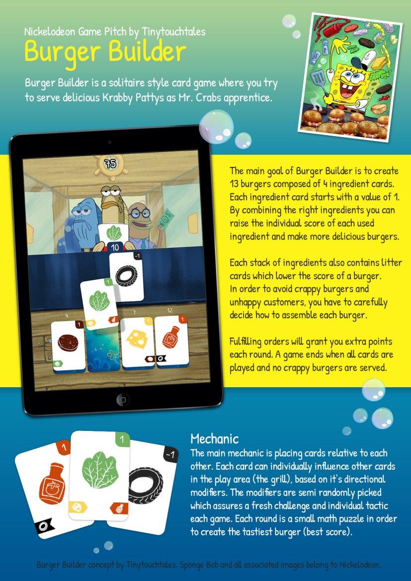 Spongebob Squarepants Burger Game : spongebob, squarepants, burger, Miracle, Merchant', Originally, Going, Spongebob-Themed, Burger, Building, TouchArcade