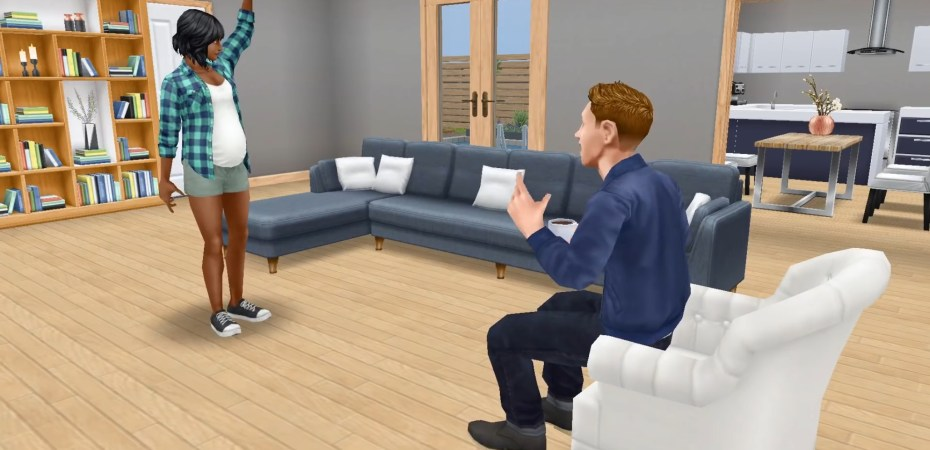 The Sims Freeplay Adds Pregnancy Allowing You To Plan A Baby Shower And More In Your Sim S Pregnancy Story Gameup24