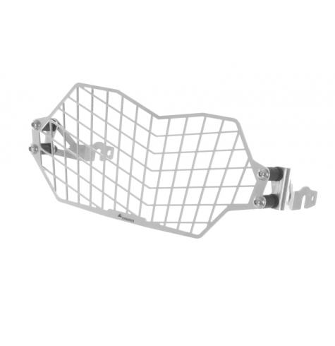 Quick Release Stainless Steel Headlight Guard, Silver, BMW