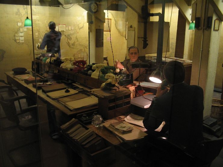 Visitors Guide to the Churchill War Rooms in London
