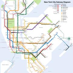 New York City Subway Diagram Bosch O2 Sensor Wiring Nyc Map Full Size