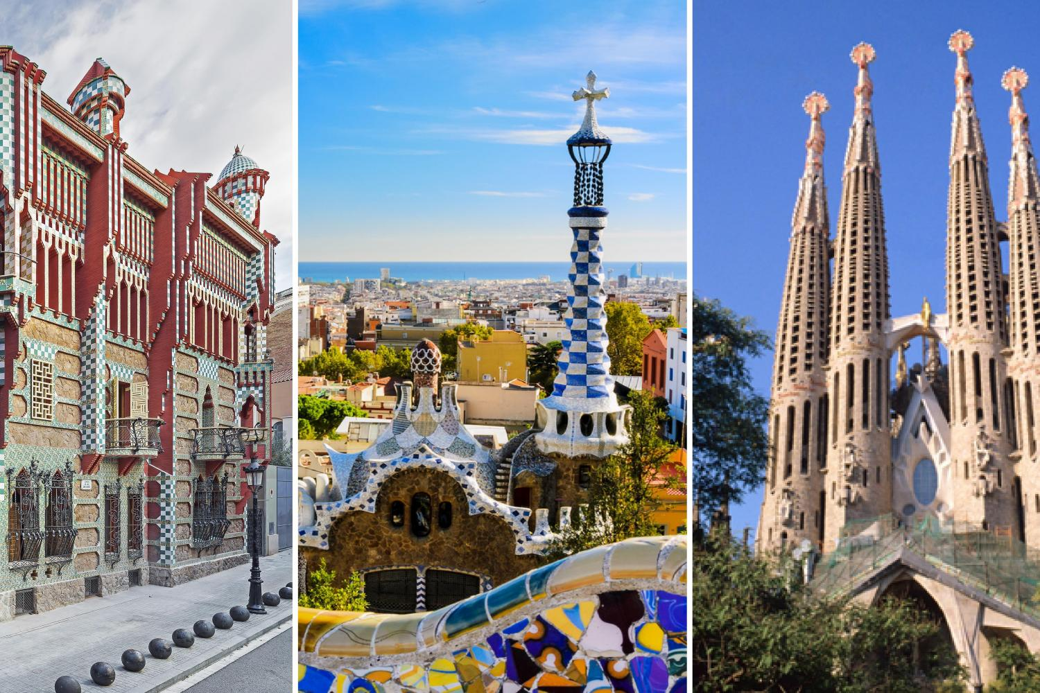 Early Access To Casa Vicens And Guided Tours To Park Guell