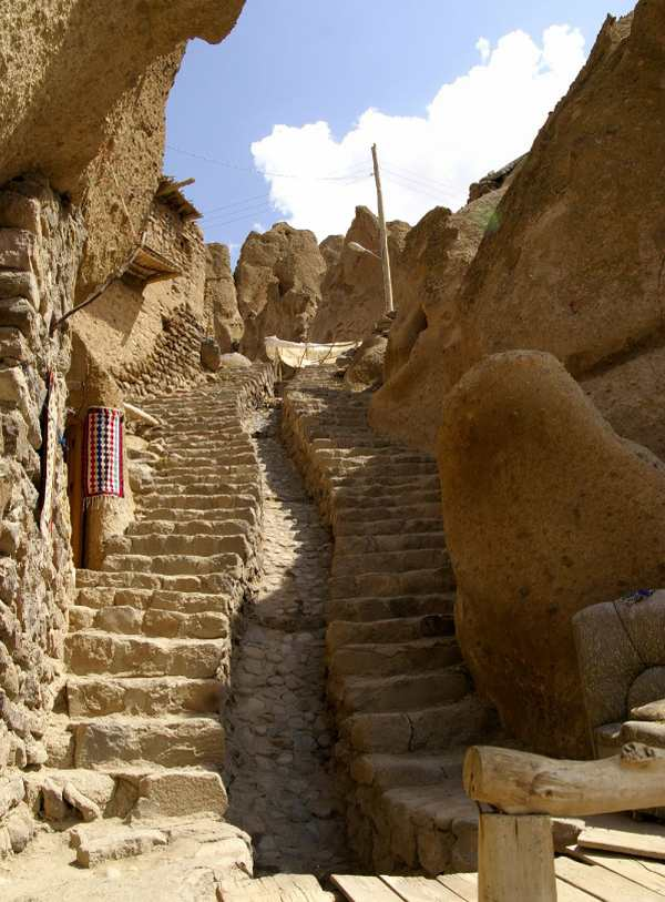 hotel with living room latest designs kandovan village, a rocky architectural oddity in iran ...
