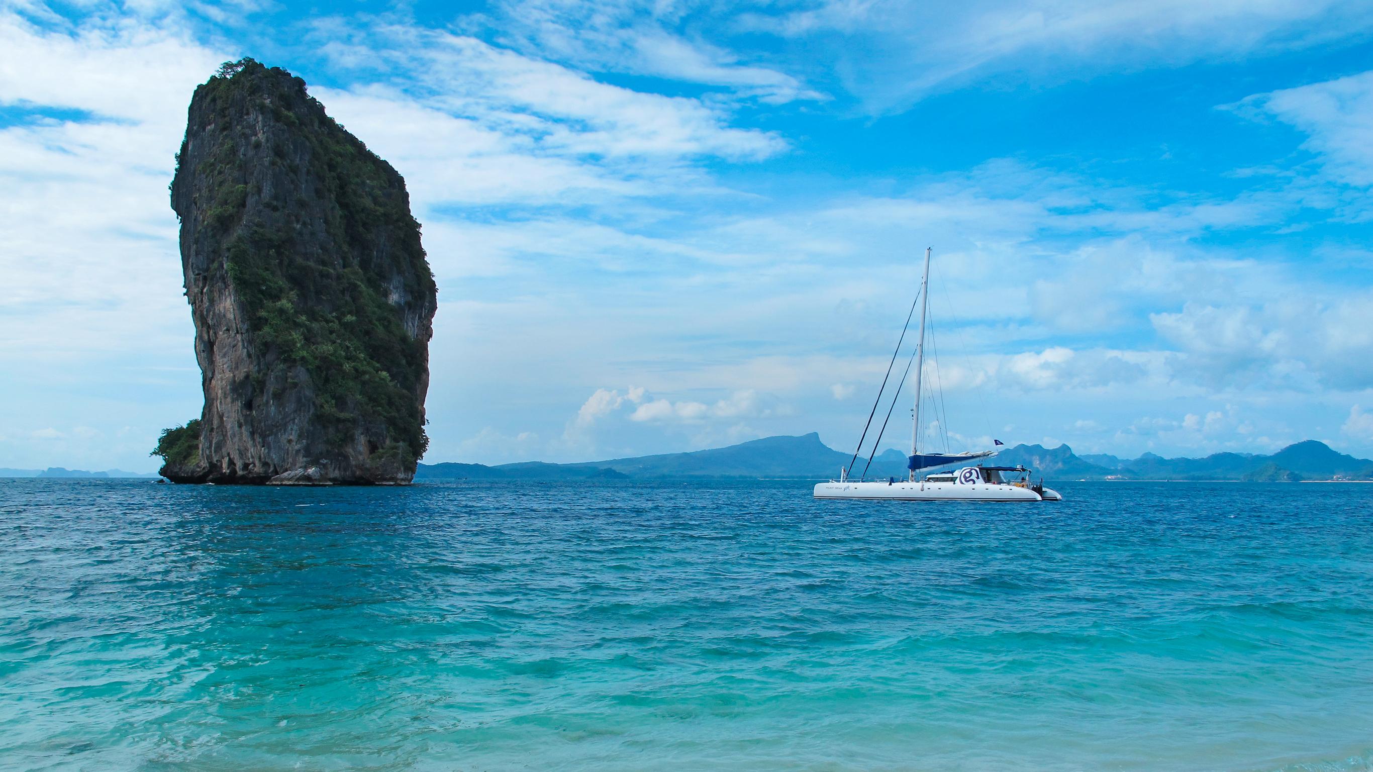 Sailing Thailand  Koh Phi Phi to Phuket by G Adventures
