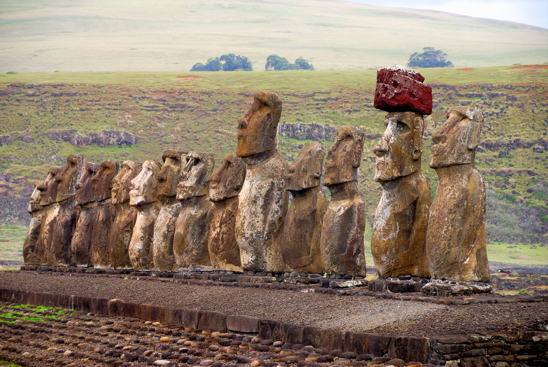 Brazil Argentina  Chile with Easter Island by Monograms