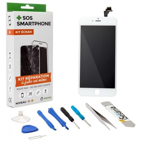 kit complet reparation ecran iphone 6 plus blanc