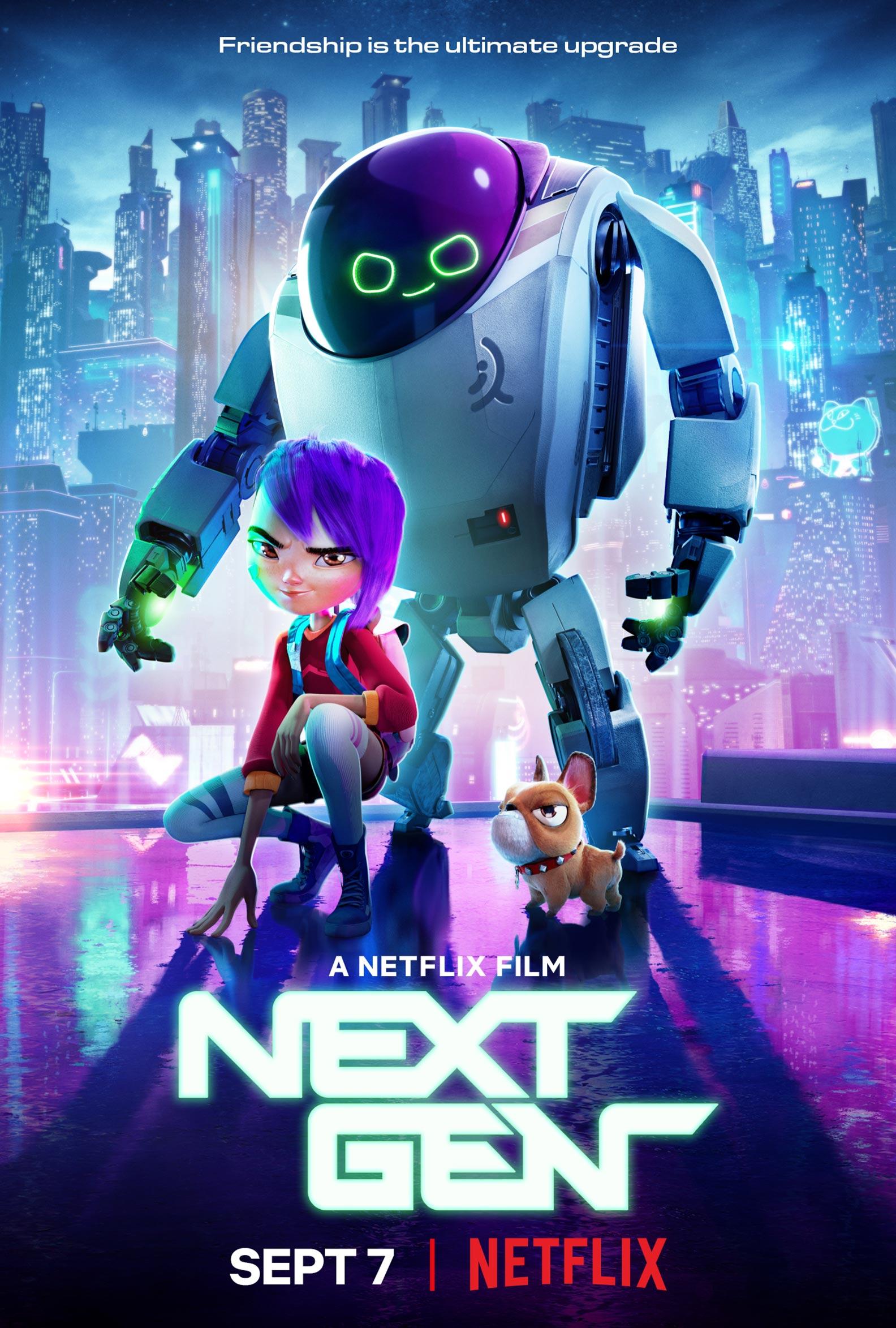 Next Gen 2018 Poster 1  Trailer Addict