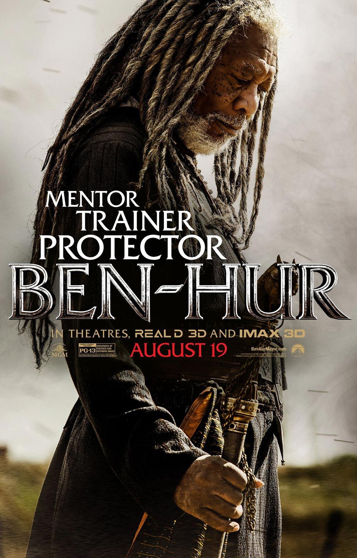 Ben Hur 2016 Poster 1 Trailer Addict