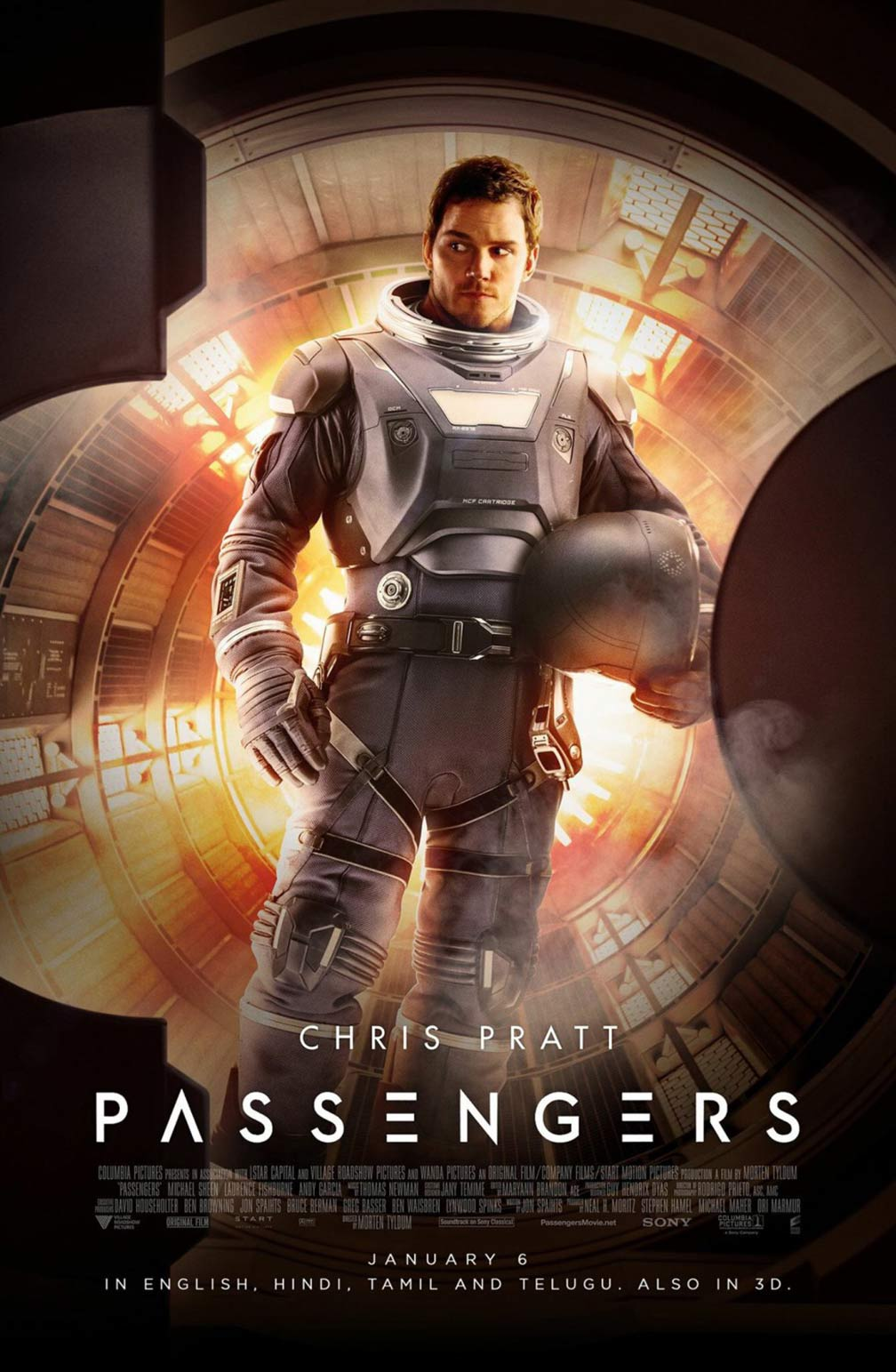 Passengers 2016 Poster 3  Trailer Addict