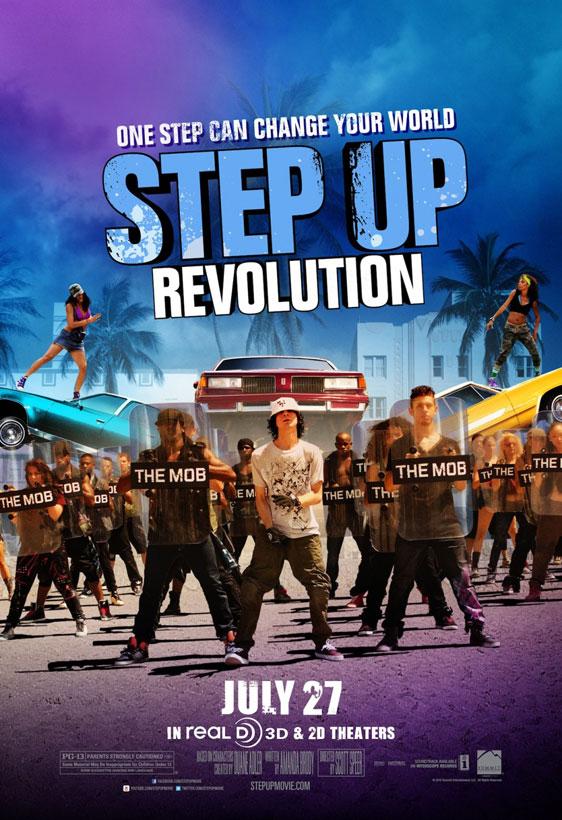 Step Up Revolution 2012 Poster 1 Trailer Addict