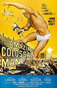 Image result for the amazing colossal man poster