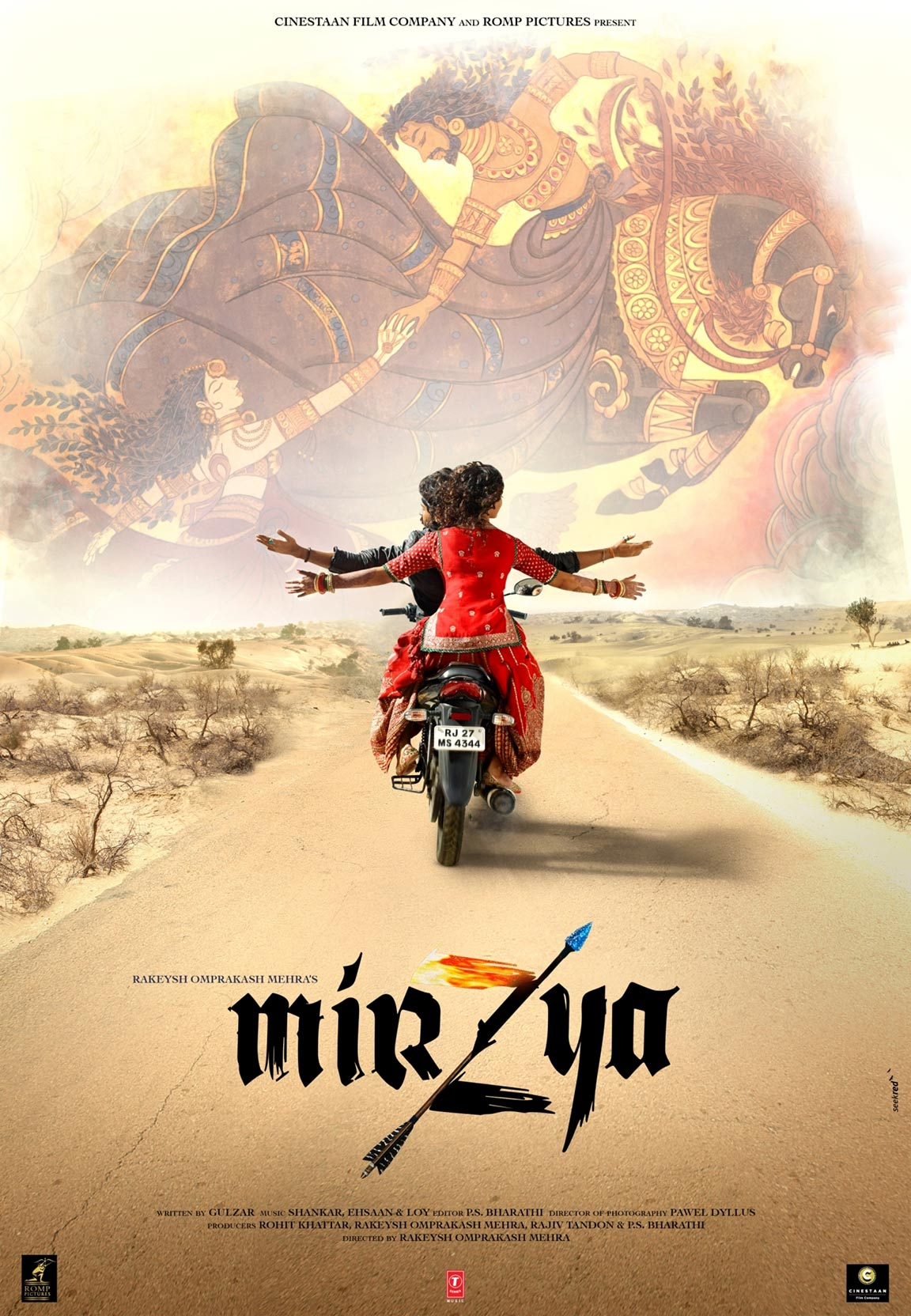Image result for mirzya poster